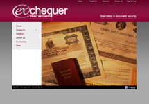 Exchequer Print Security